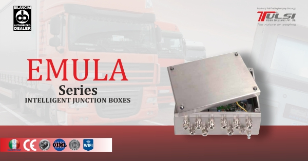 Achieving manipulation free weighbridge - Emula - Intelligent junction box for weighbridge - Tulsiweigh
